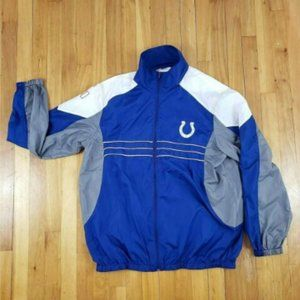 COLTS SI Indianapolis NFL WindbreakerJacket *Read